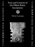 Looijenga T. - Texts and Contexts of the Oldest Runic Inscriptions