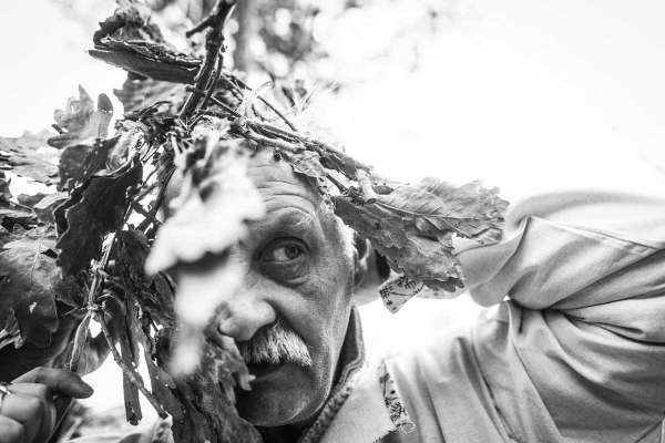 A man prepares for a pagan wedding. (Pavel Volkov)